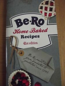 Be-Ro Recipe Book - Latest 41st Edition