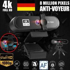 1080P / 2K / 4K Full HD WebCam USB 3.0 Drehbare Kamera für PC mit Mikrofon