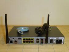 Cisco 1801W-AG-E/K9 1801 Router 128MB/32MB 802.11a,b,g with AIR-ANTM2050D-R