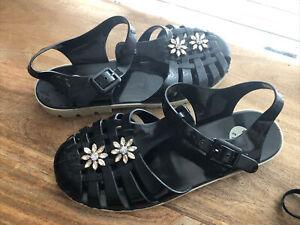 Alexa Chung x Juju Jelly Shoes Size UK8