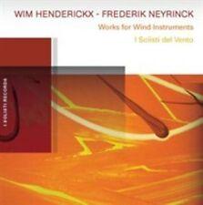 FREE US SHIP. on ANY 2 CDs! NEW CD HENDERICKX / NEYRINCK: I Solisti Del Vento