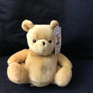 "GUND Classic Winnie the Pooh Pooh Stuffed Bear toy 7"" Plush NWT"