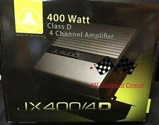 JL AUDIO JX400/4D 400W JX SERIES CLASS-D 4-CHANNEL CAR AUDIO AMPLIFIER NEW