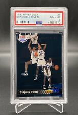 1992-93 UPPER DECK SHAQUILLE O'NEAL ROOKIE CARD #1 PSA 8 NM-MT SP HOF