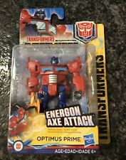 Transformers Scout Class Energon Axe Attack OPTIMUS PRIME NEW