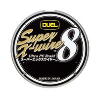 NEW Duel Super X-wire 8 150m 30lb #1.5 Silver 0.21mm 8 Braid PE Line H3601-S JPN
