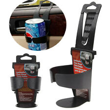 Universal Vehicle Car Truck Door Mount Drink Bottle Cup Holder Stand Black JP