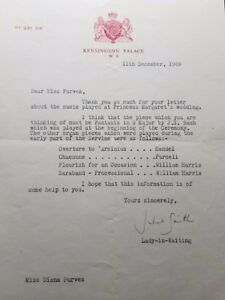 """RARE! """"Lady"""" Juliet Townsend Hand Signed TLS Dated 1969 Todd Mueller COA"""