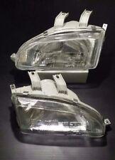 Honda Civic EG6 EG9 GLASSES Headlight Headlamp Head Light Lamp 1 Pair LH RH NEW