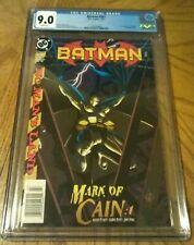 BATMAN #567 CGC 9.0 NEWSSTAND VARIANT - 1st APPEARANCE BATGIRL CASSANDRA CAIN...