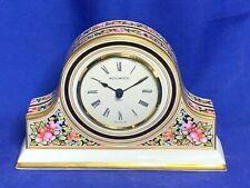 Wedgwood china Clio pattern mantle clock