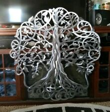 Metal wall decor tree of life wall Sculpture Minimalist Art Contemporary Decor