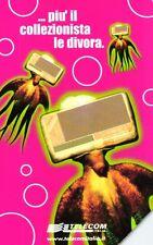 G 1238 C&C 3316 SCHEDA TELEFONICA USATA EUROPA CARD SHOW 2000 POLIPO