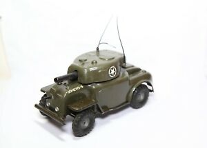 Triang Minic M 101 Armored Car - Excellent Vintage Original Clockwork