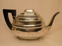 1807 GEORGIAN ENGLISH STERLING SILVER TEAPOT. 524 GRAMS. CHARLES FOX ?  (NCB)