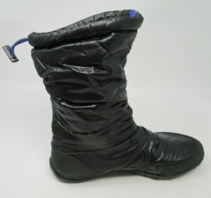 MERRELL WOMEN'S FROST GLOVE BLACK BAREFOOT WATERPROOF SNOW BOOTS SIZE 6/M