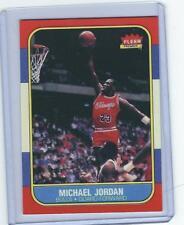 1986 FLEER MICHAEL JORDAN ROOKIE RC CARD REPRINT #57 NICE CARD