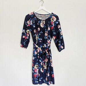 Cath Kidston Blue Floral Dress sz 10