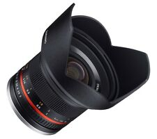 Samyang 12mm F2.0 Manual Focus Lens for Sony-E - Black