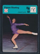 1977 SPORTSCASTER JANET LYNN FIGURE SKATING POETRY IN MOTION *A51