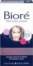 Biore Ultra Deep Cleansing Pore Strip 6ct