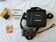 HANIMEX IC2000 motor/auto flash/focus free/DX - appareil photo argentique