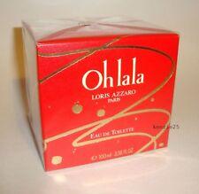 AZZARO OH LA LA LORIS AZZARO HER PERFUME 3.38 FL OZ EDT 100 ML SPLASH SEALED BOX