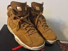 Nike Air Jordan 6 Retro Wheat Golden Harvest 384664-705 Size 10 GORGEOUS