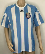Men's Adidas ClmaCool Argentina AFA 2010 Soccer Jersey Size Large Blue / White