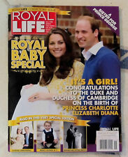Royal Life A LITTLE PRINCESS Baby Charlotte 98 Pages ROYAL BABY SPECIAL Edition
