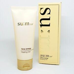SU:M37 Time Energy Peeling Gel 100ml Anti Aging Removes Dead Skin Cells K-Beauty