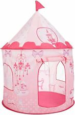 Princess Castle Play House Kids Portable Play Tent Indoor/Outdoor BabyGift Pink