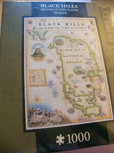 Black Hills National Forest Maps Jigsaw Puzzle 1000 Pieces Xplorers MasterPieces