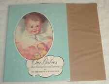 1949 Care Feeding Record Book OUR BABIES Herman Bundesen Chicago IL Dept Health