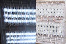 50 Samsung LED Modul mit Linse 140° | IP68 | 9500k kaltweiß
