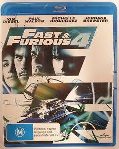 Fast & Furious 4 Vin Diesel Paul Walker Blu-ray