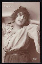 Vintage RPPC Postcard Mignon Beautiful Young Girl - Unused