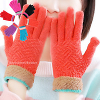 Women Men Winter Snow Gloves Windproof Warm Thick Insulated Christmas Holiday