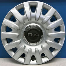 """ONE '14-16 Fiat 500L 4 Dr # 57580 16"""" Hubcap / Wheel Cover OEM # 5NF59MD4AA NEW"""