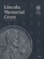 Whitman Lincoln Memorial Cents Penny Coin Folder 1959-1998 #9000
