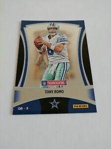 Tony Romo Dallas Cowboys 2012 Panini Black Friday Thanksgiving #3 NFL Trading...