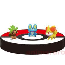 Pokemon XY01 Zukan 1/40 Scale Figure - CHESPIN FROAKIE FENNEKIN Tomy Let's Go