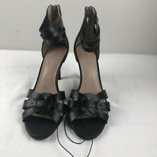 3988f116e BCBG Generation Ankle Strap Sandals Black Cocktail Evening Sz 10