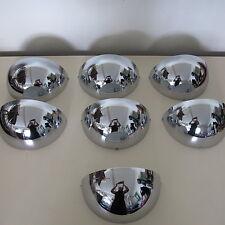 Sölken Leuchten 7 Wandlampen verchromt 70er vintage wall lamps chromium - plated
