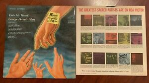 GEORGE BEVERLY SHEA - TAKE MY HAND - LP RCA 19 LSP 3760 1967