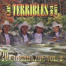 FREE US SHIP. on ANY 3+ CDs! ~LikeNew CD Los Terribles Del Norte: Vol. 2-20 Corr