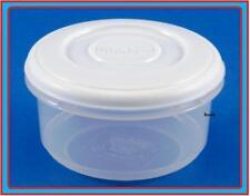 0,5 L rotonda PLASTICA ALIMENTI FRIGO MICROONDE CONTENITORE COPERCHIO FILTRO storer VASCA Store