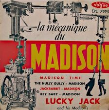 ++LUCKY JACK mecanique du madison EP 1962 VOGUE hully gully/jackrabbit RARE++