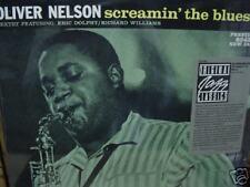 OLIVER NELSON SCREAMIN BLUES Sealed LP STICKER SERIES PRESTIGE RECORDS OJC-080