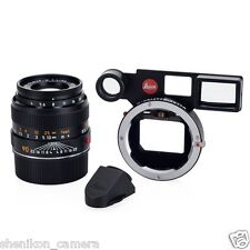 Brand New Unused Leica MACRO-ELMAR-M 90mm F4 f/4 Anglefinder Kit Set 11629